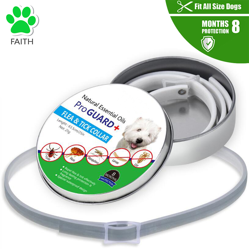 FAITH 8 Months Factory Price Dispels Flea Tick Collar <strong>dogs</strong> & cats