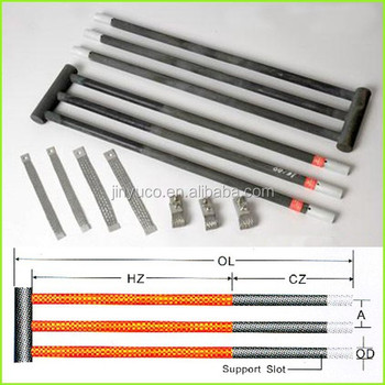 Tope Quality And High Temperature Silicon Carbide Heating Elements ...