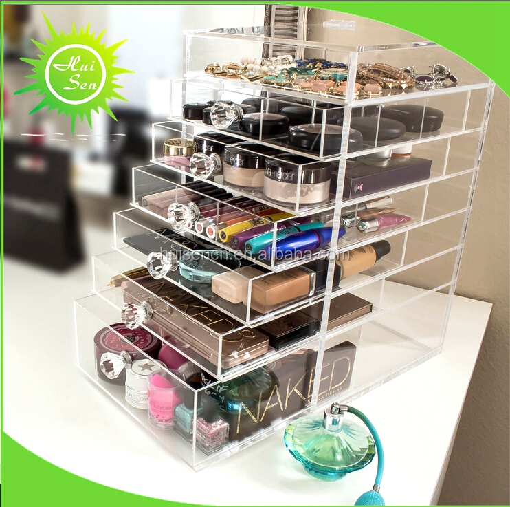 Transparent Cosmetic Display Holder Store for Small Items