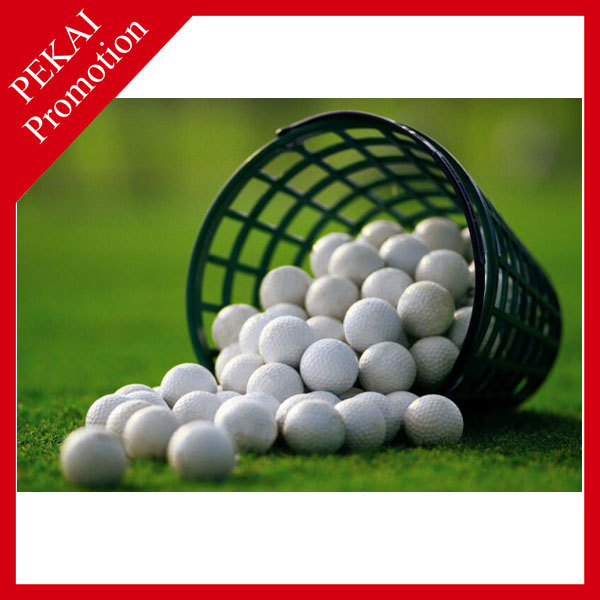 Wholesale stock colored biodegradable golf balls sale