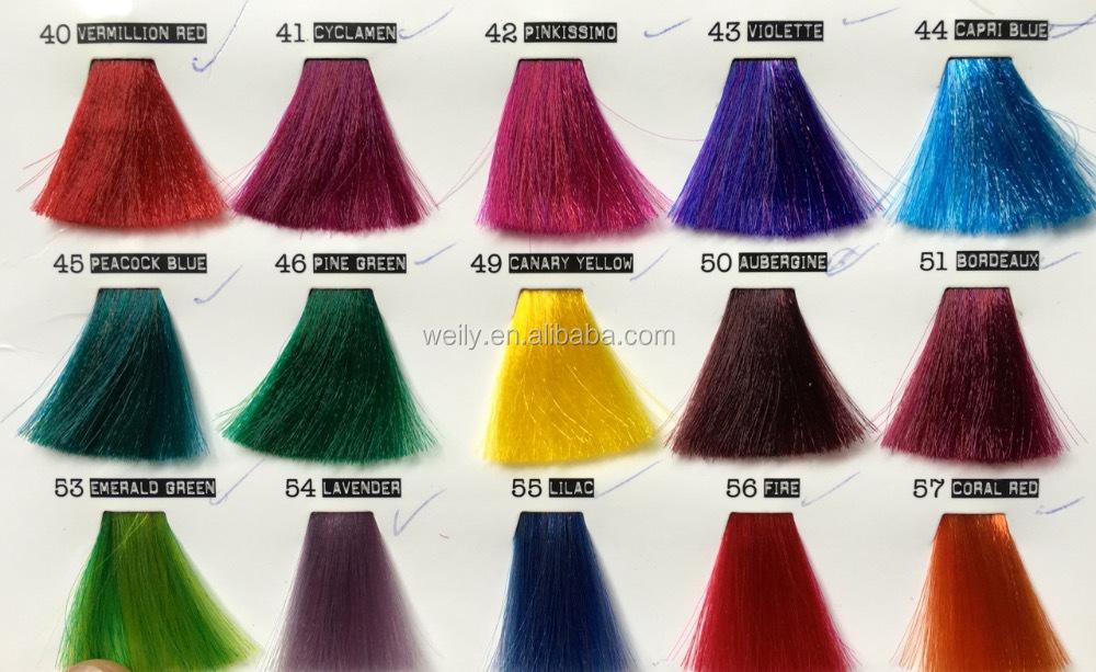 corail rouge fou cheveux couleur semi permanente cheveux colorant sans ammoniaque pas de peroxyde - Coloration Cheveux Semi Permanente
