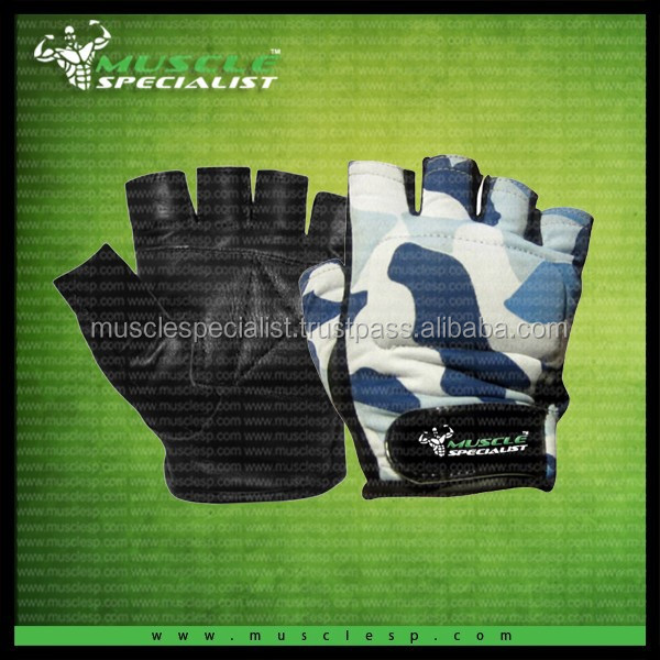 Weight lifting gloves/Camouflage weight lifting gloves