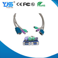 VGA/HD15/RGB To 3 RCA Component Cable FACTORY