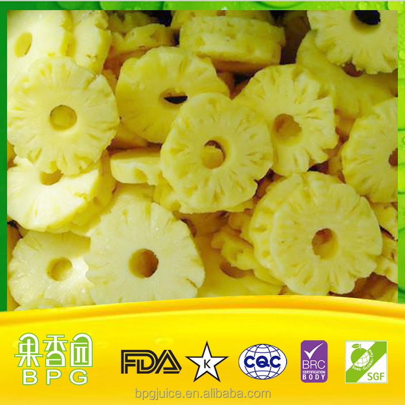 Frozen Pineapples and IQF fruit