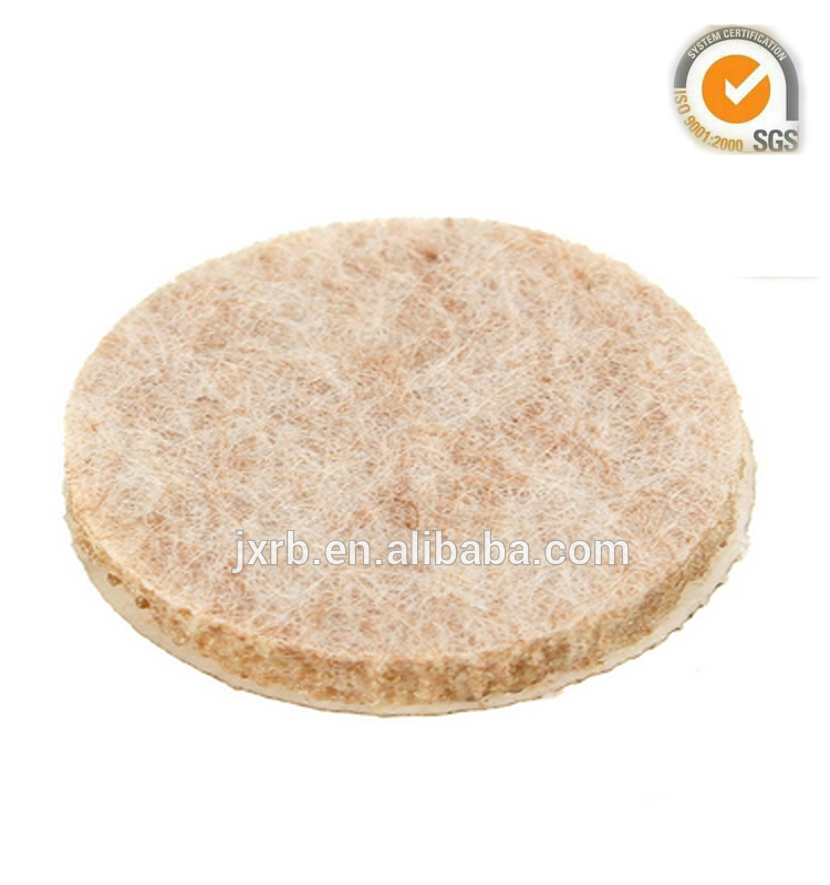 """Self-Stick 3/"""" Heavy Duty Furniture Felt Pads for Hard Surfaces .. Free Shipping"""