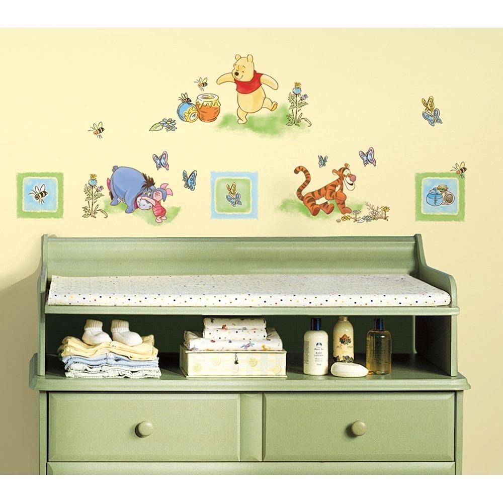 Buy New Winnie The Pooh Wall Decals Baby Nursery Or Kids Bedroom ...