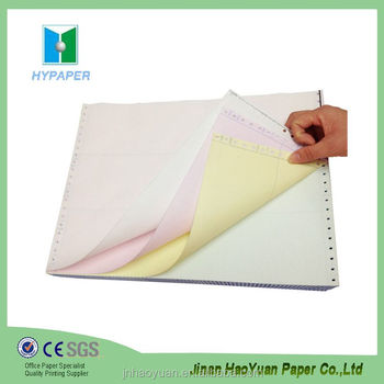 computer listing paper 3 ply carbonless copy paper buy 3 ply