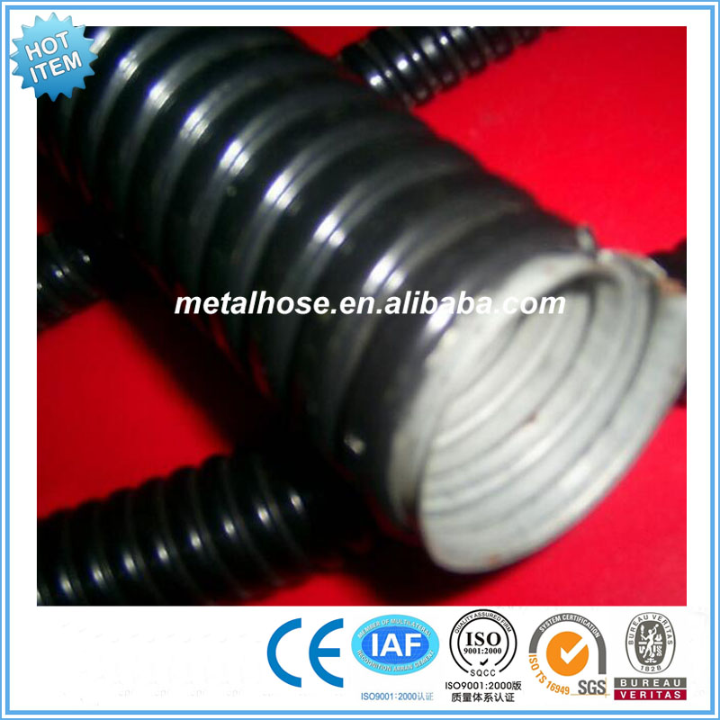 PE/PVC coated metal flexible tube/conduit/electrical conduit tube