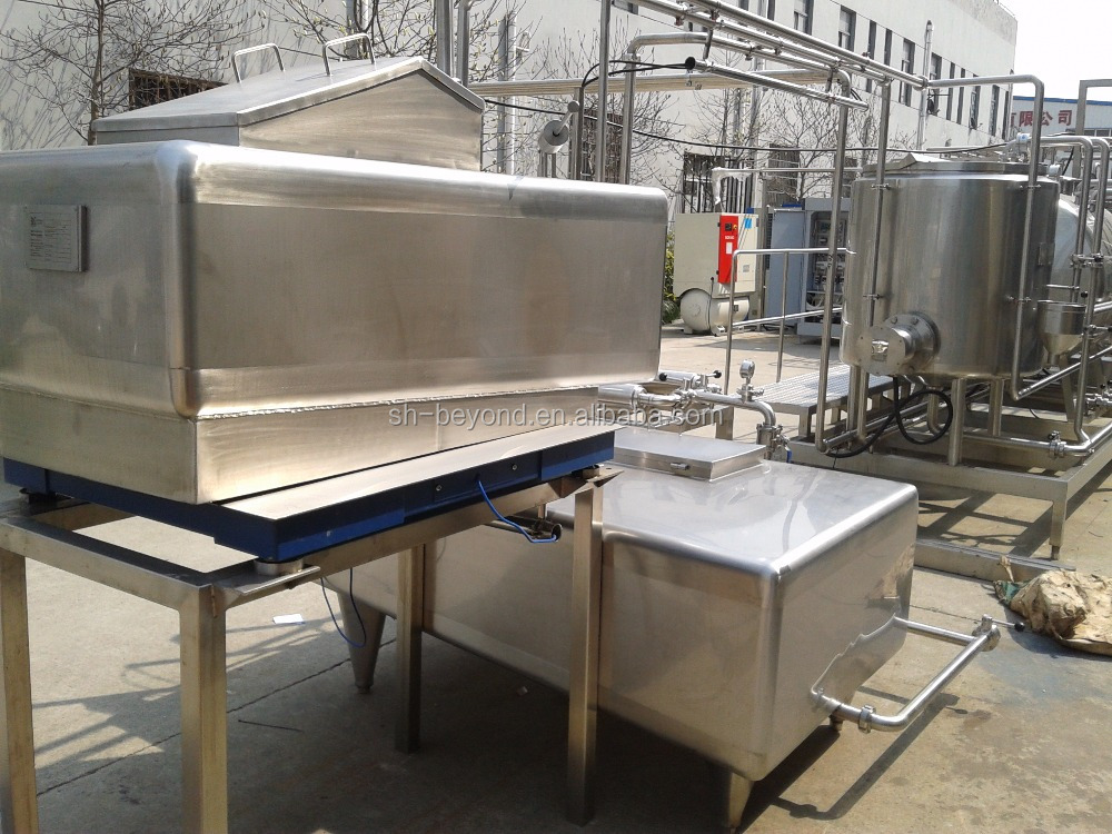 Stainless Steel Pasteurized Milk Processing Line 5000B / H PET Bottle Package