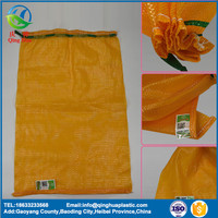 hot products pp tubular mesh bag for vegetables and fruit