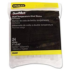 ** Dual Temperature Glue Sticks, 4 in Stick, 24/Pack **