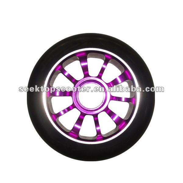 customized available pro scooter metal core wheels with cheap price