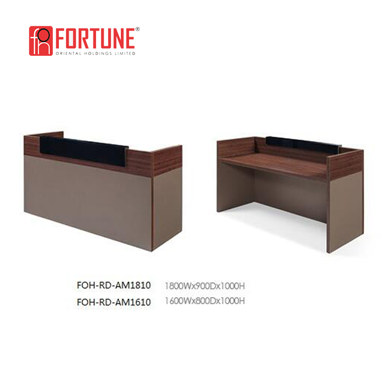 Custom Wooden Small Office Reception Or Cash Counter Desk Furniture  (foh-rd-am1810) - Buy Cash Counter Furniture,Reception Desk,Counter  Furniture ...