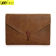 New Arrival Crazy Horse Leather Vintage Laptop Cover Protective Case For Macbook Air/Pro 11/12/13/15 Inch