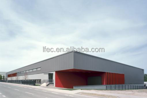 Long-span Prefabricated Light Steel Frame Warehouse Building Plans