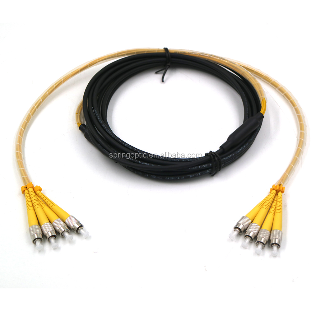FC/UPC SM Armored 4 core  Fiber optic patch cable