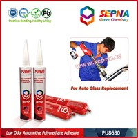 Paste polyurethane adhesive sealant for atv windshield PU8630