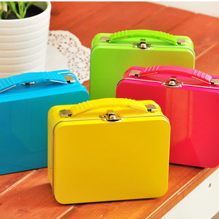 travel promotion gift lunch box metal tin container for food packaging
