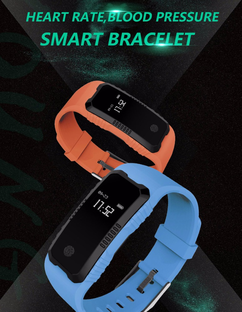 2018 new smart heart rate monitor watch with blood pressure monitors colorful smart watch without <strong>sim</strong>