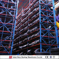 top quality adjustable tire rack shelving stacking motor vehicle tyres rack