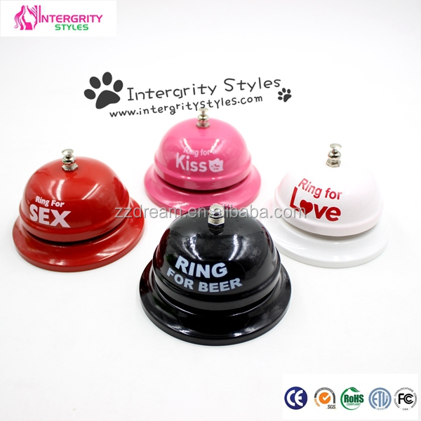 Birthday gift metal hand bell funny kids toys