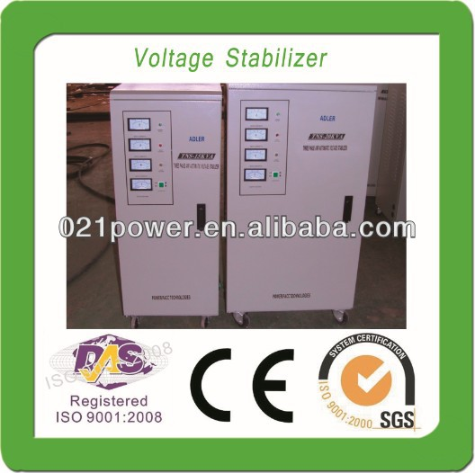 Automatic 7500 VA DRI Voltage Regulator.