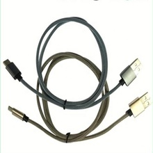Nylon geflochtene usb micro handy datenkabel, multi ladekabel, geflochtene datenkabel