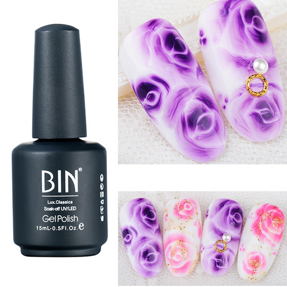 BIN Blossom GeL 15Ml Bottle Packing ombre gel