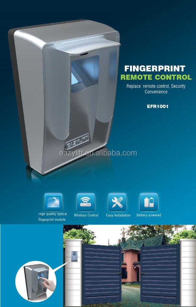 Fingerprint Scanner For Garage Door Opener Fingerprint Reader For