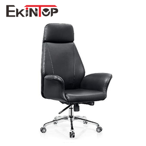 Hot selling black Leather Office Reception Customer Luxury Chair A0979