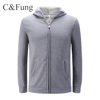 High quality mens hoodies custom zipper up sweatshirts