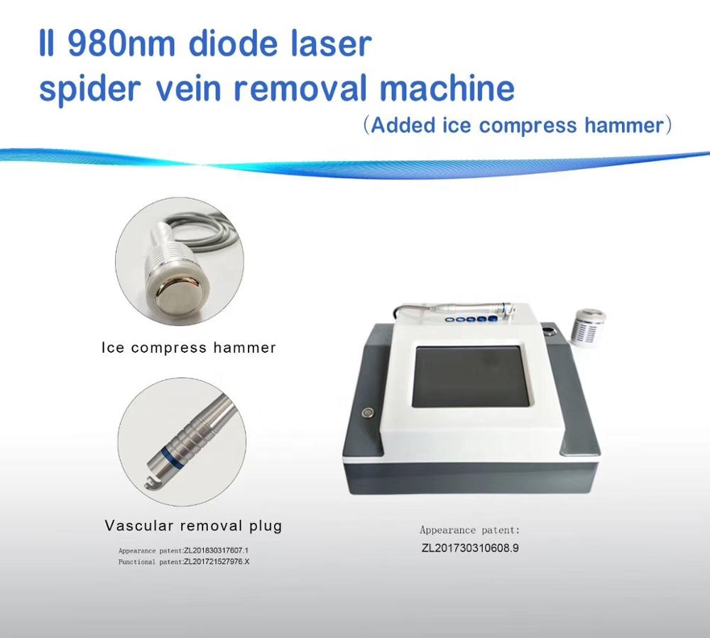 GOMECY portable 980nm Laser Treatment For vascular skin spots Acne Removal And Pigment Removal