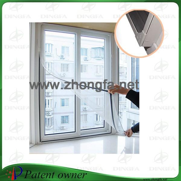 מאוד כילות נגד יתושים לחלון , דלת מגנטית מסך וילון , יתושים מסך רשת FN-89