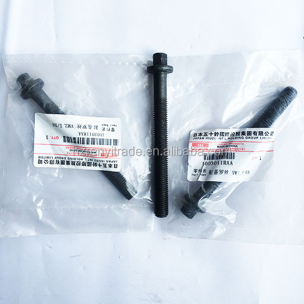 VM SPARE PARTS 2.5 2.8 R425 R428 Cylinder Head Bolt Bolts for Jeep Grand Cherokee WJ 3.1 99-04 531OHV 1003011RAA