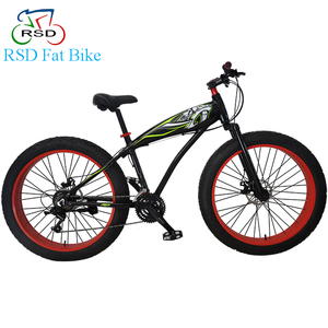 Europe Chopper 26 inch fat bike / colored big tire fat bicycle men / suspension fork mountain bike folding fat bike biking