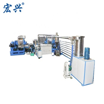 Fully Automatic kneading extrusion underwater hot melt glue granulation machine