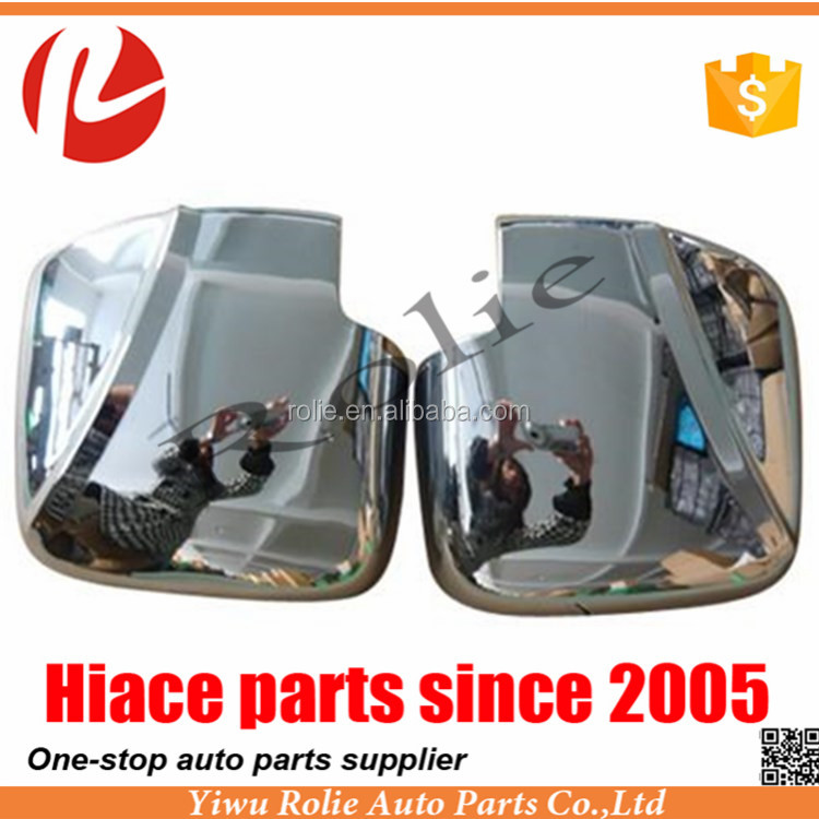 Hiace 2005 Plating Mirror Cover toyota hiace chrome accessories Toyota hiace Chrome Mirror Cover