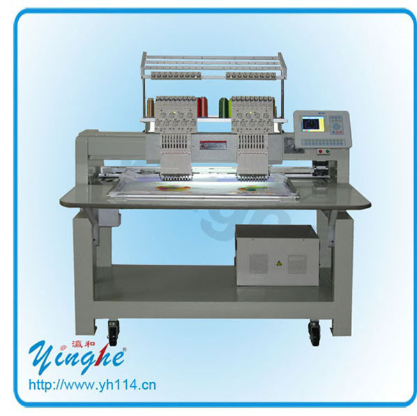 Automatic /manual clothing embroidery machine