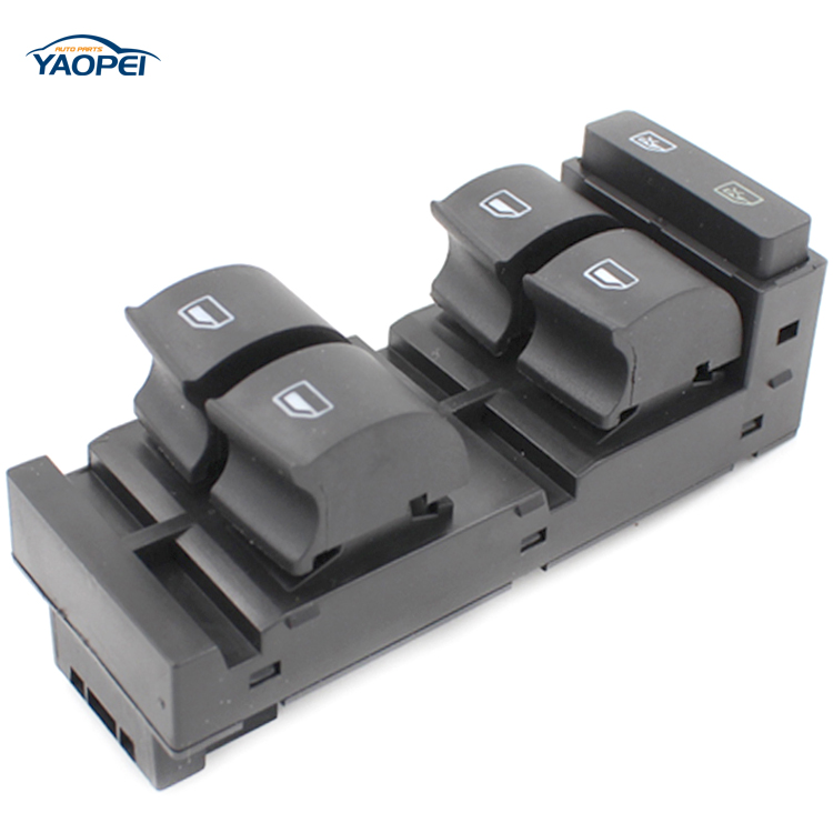 Power Master Window Control Switch Main control switch of window elevator for Au-di A6 S6 C5 1998-2004 RS6 2003-2004 4B0959851B