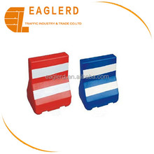 PE Road safety traffic water filled plastic barrier supplier
