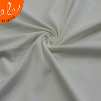 110g 88 polyester 12 elastane stretch milk silk spandex jersey fabric