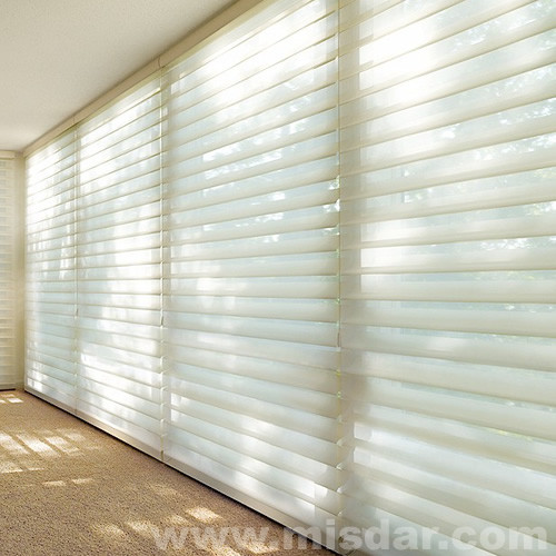 Silhouette Blind, shangri-la blinds, sheer blind