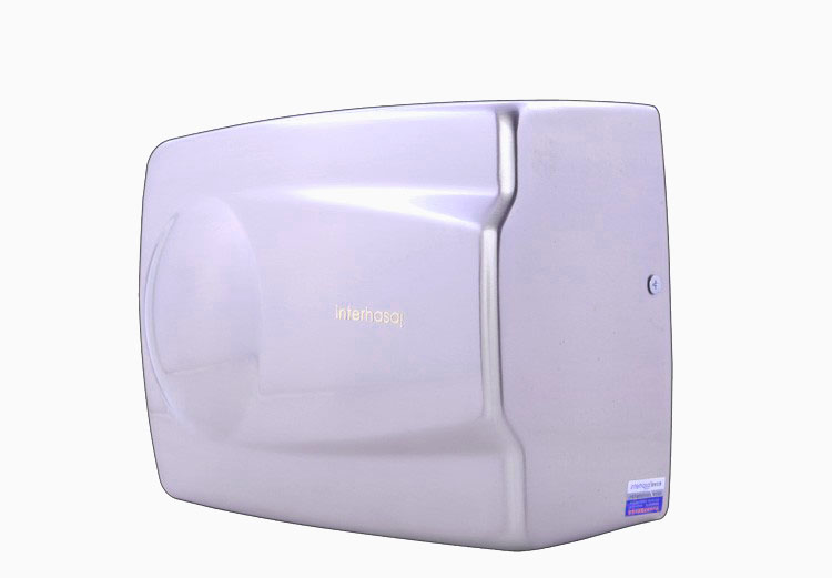 Stainless steel automatic air injection hand dryer