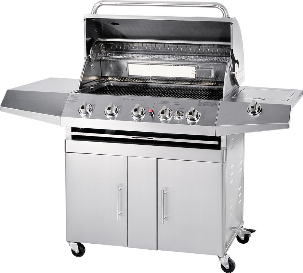 Groothandel Rookloze Barbecue Rvs Outdoor BBQ Gas Grill