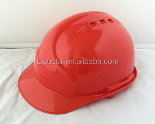 Hard hat with accessory slots and chin strap