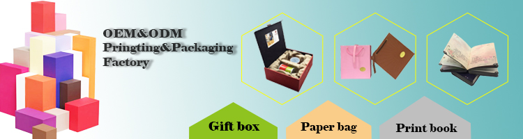 custom printed logo personalized label artpaper packaging boxes color box