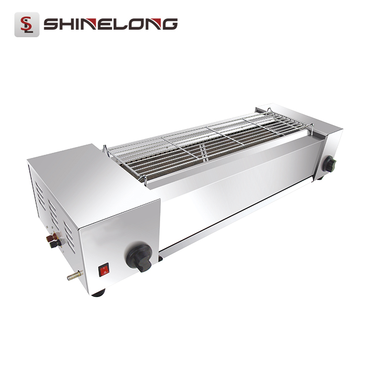 K1358 Stainless Steel Anthracitic Gas Barbecue Bbq Grill