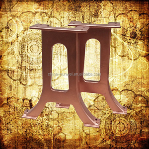 Customized Chinese Non-stadard Ornamental Cast Iron Table Feet