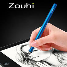 Promotion Capacitive Screen Stylus Tablet/Mobile Phone Touch pen For iPhone/iPad/Samsung/Sony Tablets PC/Windows Metal Pencil