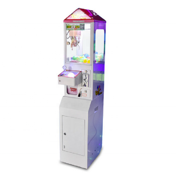 Luxury mini single catch doll clip doll gift game machine